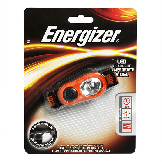 Energizer LED Head Light with Batteries - HDL2BU1CS