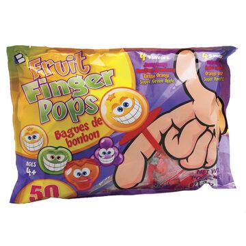 Fruit Finger Pops - 50's