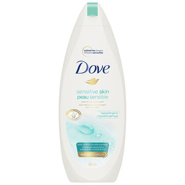 Dove Sensitive Skin Unscented Body Wash - 354ml