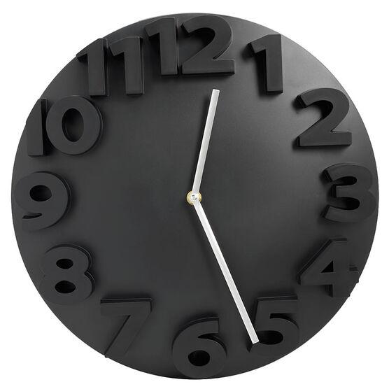 London Drugs Kueber Clock - Black - 35cm