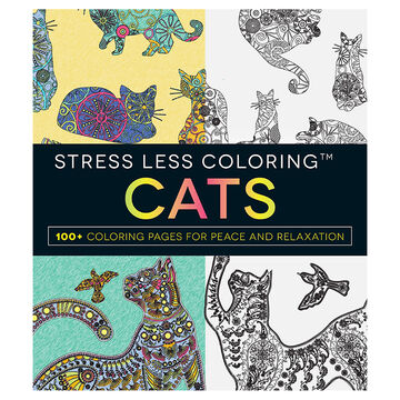 Stress Less Colouring: Cats
