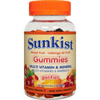 Sunkist Gummies Multi Vitamin & Minerals - Mixed Fruit - 60's