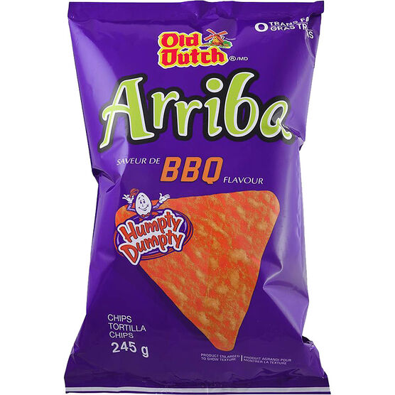 Old Dutch Arriba - BBQ - 245g