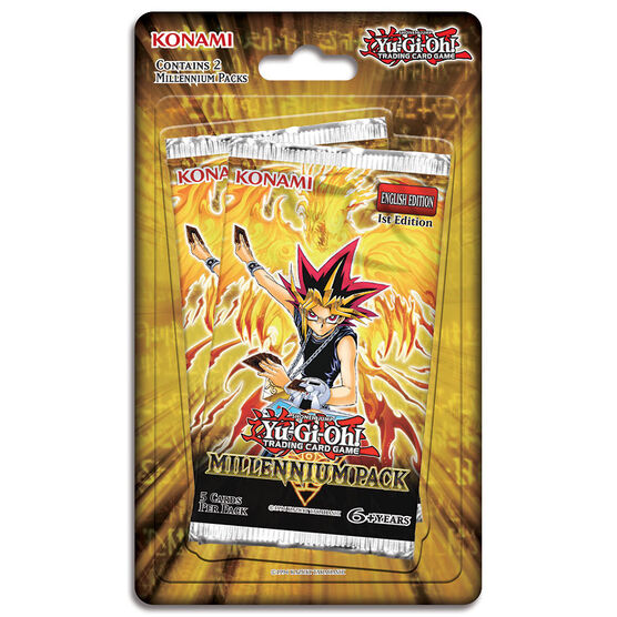 Yu-Gi-Oh - Trading Card Game - Millennium Blister Pack