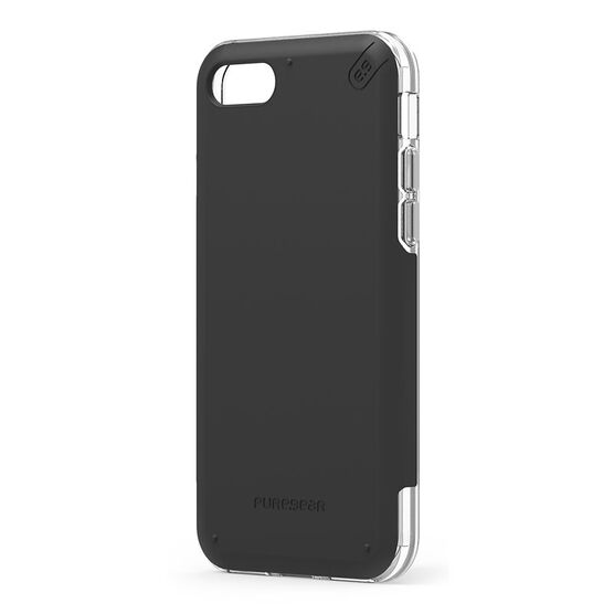 PureGear DualTek Pro for iPhone 7 - Black/Clear - PG61586PG