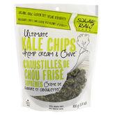 Solar Raw Kale Chips - Hemp Cream & Chive - 100g