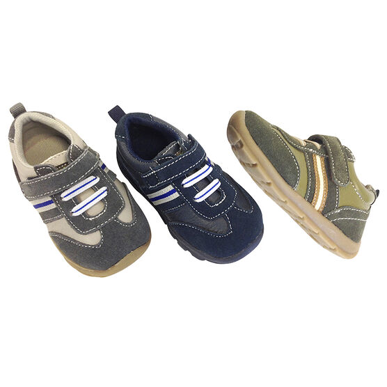 Outbaks Leather and Suede Sneakers - Boys - Assorted