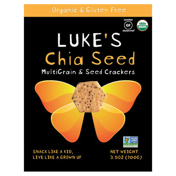 Luke's Crackers - Chia Seed - 100g