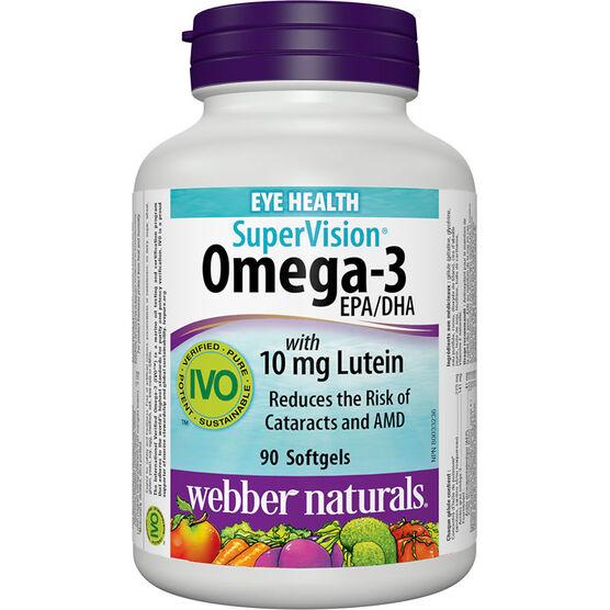 Webber Naturals Omega-3 Supervision - 90's