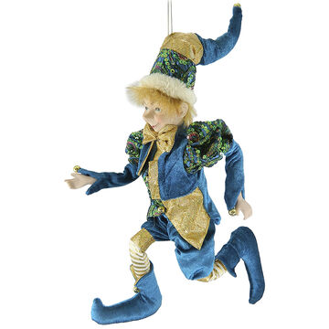 Christmas Forever Poseable Elf - 18 inch - Teal