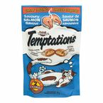 Whiskas Temptations Treats for Cats - Savoury Salmon - 85g