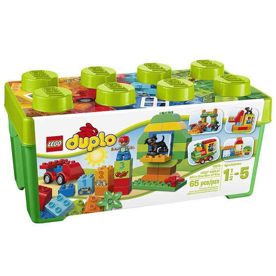 Lego Duplo All-in-One-Box-of-Fun - 10572