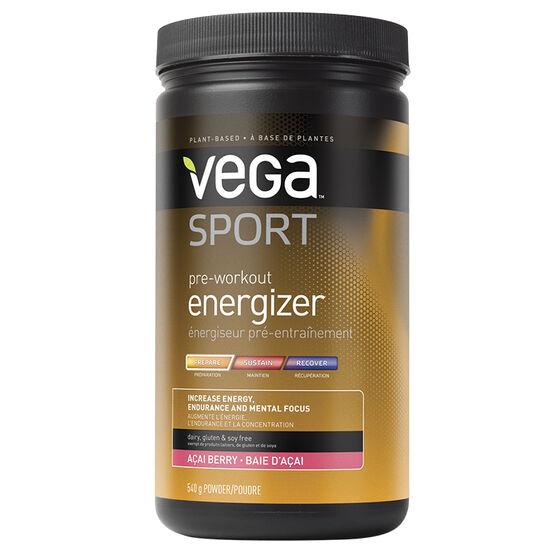 Vega Sport Pre-Workout Energizer - Acai Berry - 540g