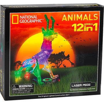 Laser Pegs National Geographic Animals Kit