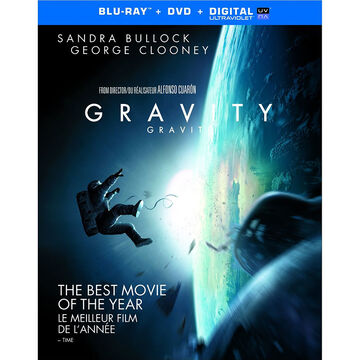 Gravity - Blu-ray + DVD + UltraViolet + Digital Copy