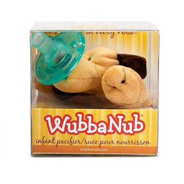 Wubbanub Infant Pacifier - 0-6 Months - Brown Puppy
