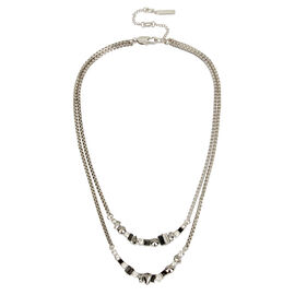 Kenneth Cole Double Chain Necklace - Multi