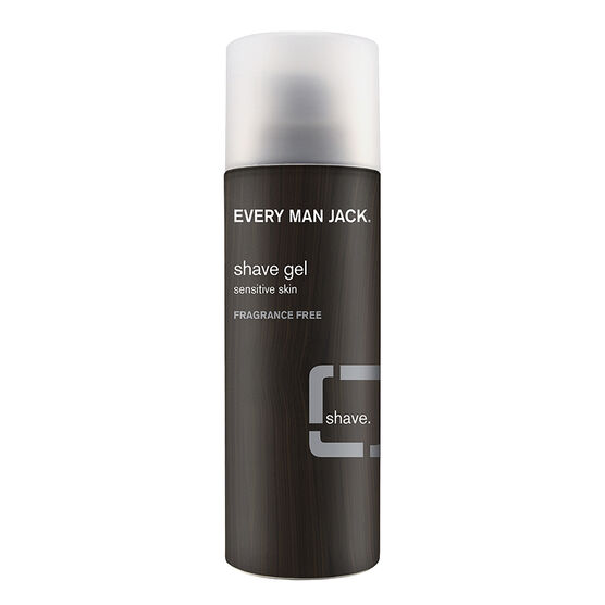 Every Man Jack Shave Gel - Fragrance Free - 7oz
