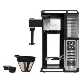 Ninja Coffee Bar Single serve - Black and Silver - CF111C