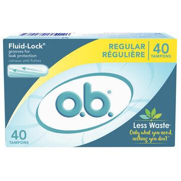 O.B. Tampons - Regular - 40's
