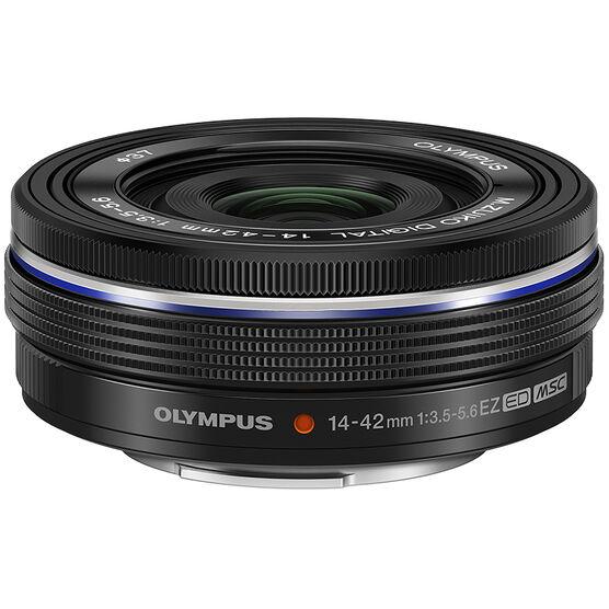 Olympus 14-42mm F3.5-5.6 Lens - Black - V314070BU000