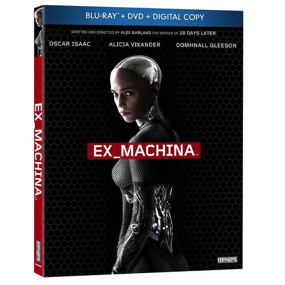 Ex Machina - Blu-ray + DVD