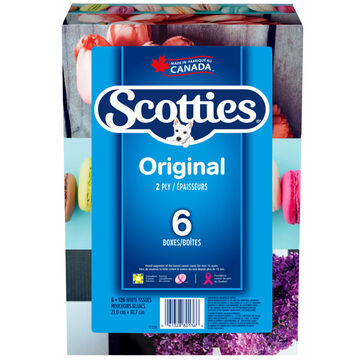 Scotties Original Multi-pack Facial Tissues - 6 x 126's