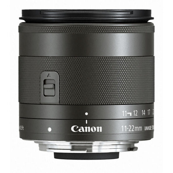 Canon EF-M 11-22mm IS STM Lens - 7568B002