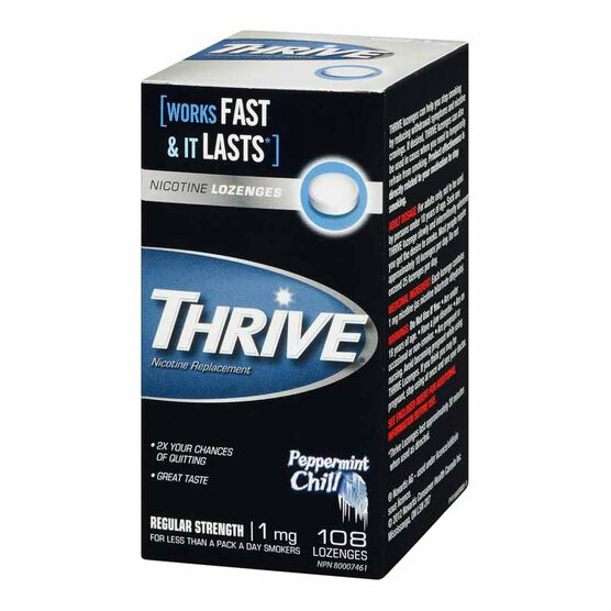 Thrive Nicotine Lozenges 1mg  - Mint - 108 lozenges