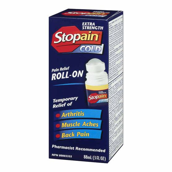 Stopain Cold Extra Strength Roll-On - 88ml