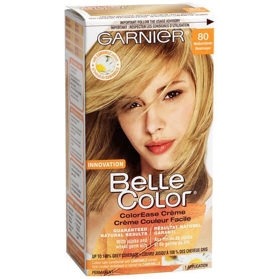 Garnier Belle Color Haircolour - 80 Medium Blonde