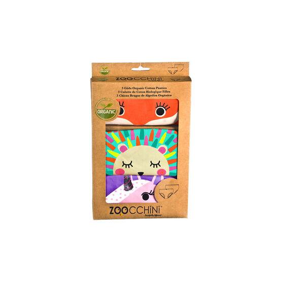 Zoocchini Organic Underwear - Girls - 4T/5T