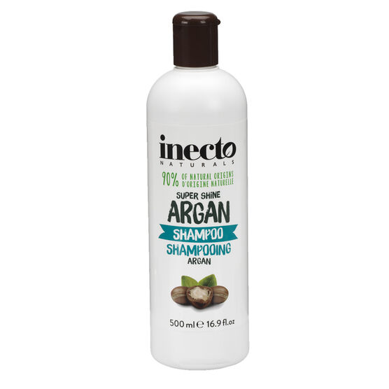 Inecto Naturals Super Shine Argan Shampoo - 200ml