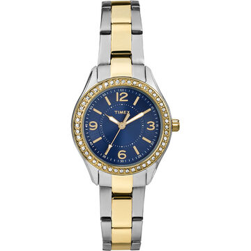 Timex Miami Mini - Silver/Gold/Navy - TW2P80000ZA
