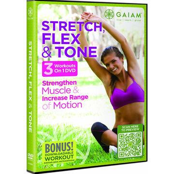 Stretch Flex And Tone - DVD