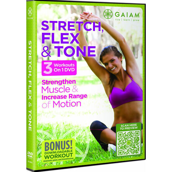 Stretch Flex And Tone - DVD