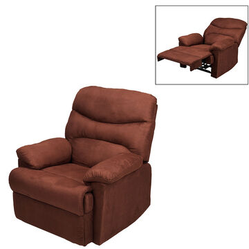 London Drugs Manual Recliner Chair - Chocolate