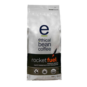 Ethical Bean Ground Coffee - Rocket Fuel - 908g