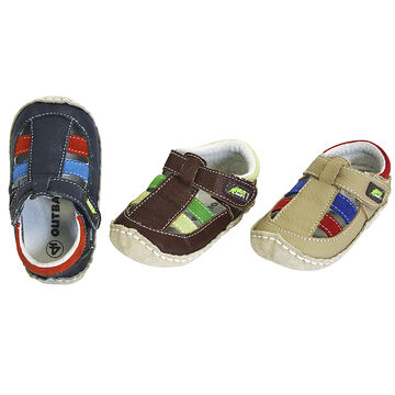 Outbaks Sandal Suede/Leather Assorted - Boy's