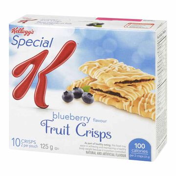 Kellogg's Special K Fruit Crisps - Blueberry - 5 pack / 125g