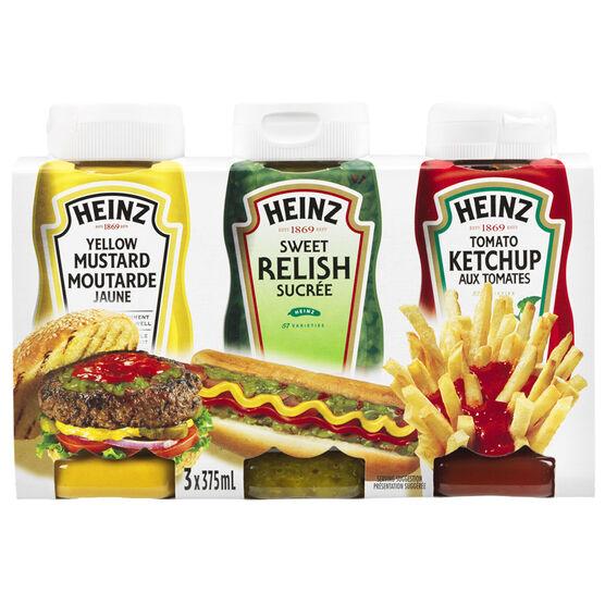 Heinz Picnic Pack - 3 x 375ml