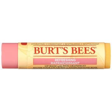 Burt's Bees Refreshing Lip Balm with Pink Grapefruit - 4.25g