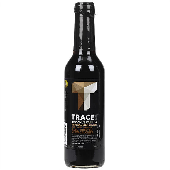 Trace Black Water - Coconut Vanilla - 375ml