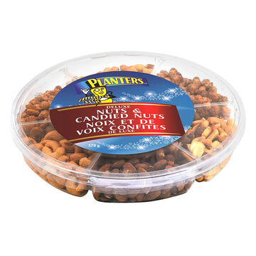 Planters Deluxe Nut & Candied Nut Assortment - 570g
