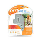 Off Clip On Repellent with Face Plate
