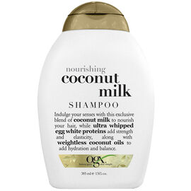 OGX Nourishing Coconut Milk Shampoo - 385ml