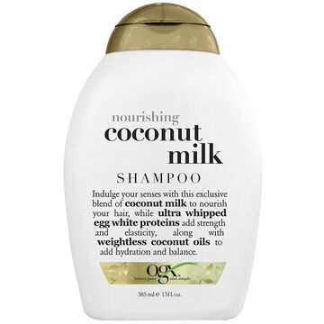 OGX Nourishing Coconut Milk Shampoo - 385ml