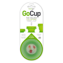 GoCup Collapsible Travel Cup - Clear - 4oz