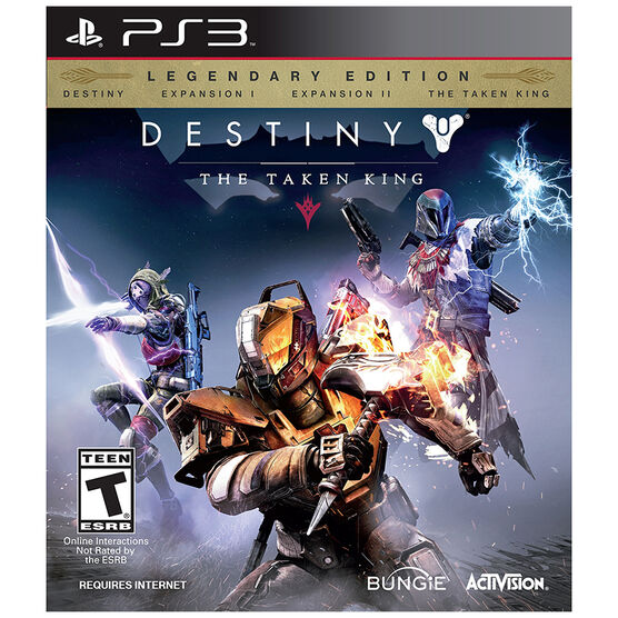PS3 Destiny: The Taken King Legendary Edition