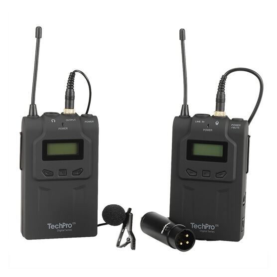 TechPro DS UHF Wireless Mic - TP-WVM04